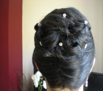Bridal French Roll/Twist