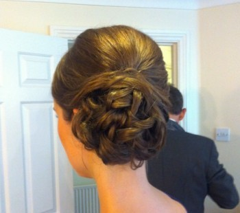Bridal Low Side Bun